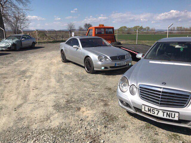 Mercedes-Benz CL 500 На части